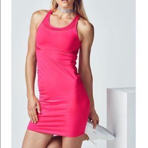 Fabletics Tropez Pink Dress L